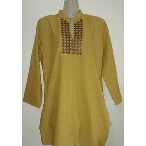 Kurti Mhendi Brown Color