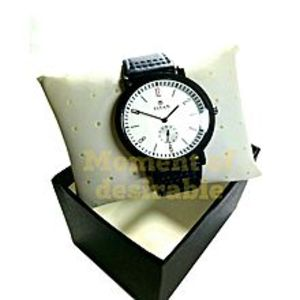 TitanBlue Leather Wrist Watch For Men
