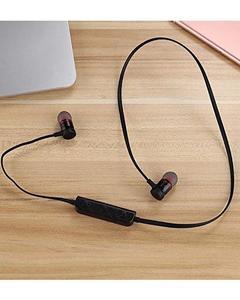 S Magnetic Bluetooth Wireless Best Selling Black Rechargable Earphones