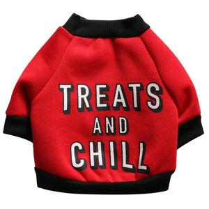 Perfect Meet 2019 New Pet Dog Puppy Funny Letters Fleece Shirt Apparel Warm Sweater Clothes