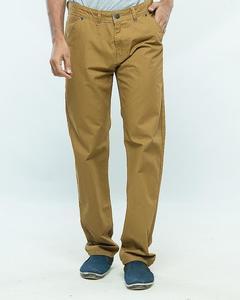 Camel Slim Fit Cotton Jeans for Men