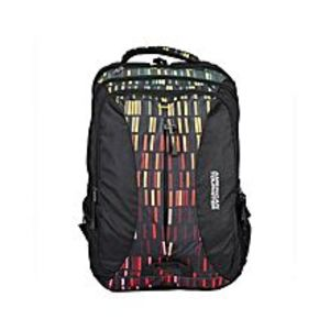 American TouristerPack of 2 - At Dodge II Backpack + Pencil Case - Black
