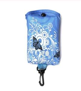 Foldable Shopping Bag Butterfly Flower Oxford Fabric Eco-Friendly Grocery Bags Reusable for Ladies