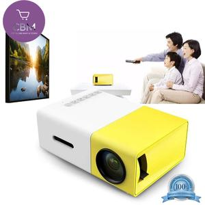 Alotm YG - 300 LCD Projector Mini Portable Projector -Multimedia Home Theater -Video Projector