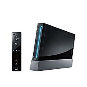 Nintendo  Wii - Asian - Singapore - Black