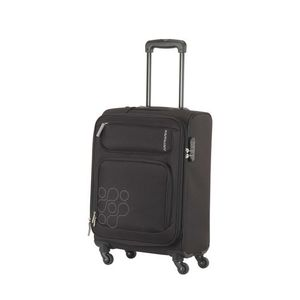 HIMBA Spinner 69 CM 4 Wheels Trolley Bags - Black