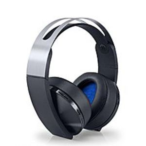 Sony Platinum Wireless Gaming Headset - Playstation 4 - Black