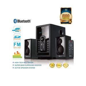 Sayona SHT-1004BT - 2.1 Channel Home Theater System HD Speaker - Black