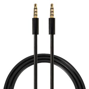 1PC 3.5mm Head Phone Male to Male Car Aux Cord Stereo Audio Cable for Phone 1M
