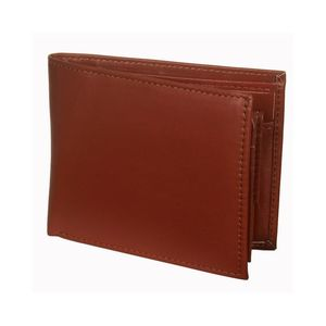 Leather Craft Brown Leather Wallet for Men - 1037