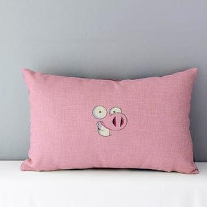Cute Rectangle Sofa Bed Home Decoration Festival Pillow Case Cushion Cover
