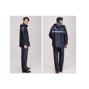 Blue Parachute Local Rain Coat Suit