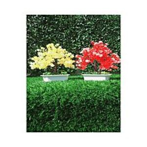 SV Traders Pack of 2 Yellow + Red Artificial Tree