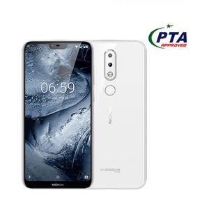 "Nokia 6.1 Plus - 4GB - 64GB - 4G - 5.8"" - Dual Camera - White"