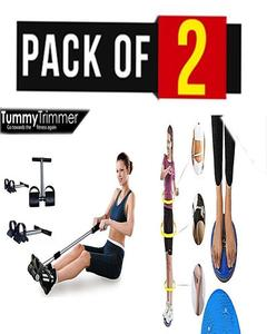 PACK OF 2 TUMMY TRIMMER AND FIGURE MASSAGAR
