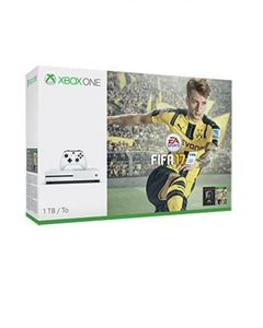Microsoft Xbox One S - FIFA 17 Bundle - 1TB - White