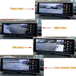 Vktech 360 Degree Bird View System 4 Camera Panoramic Smart Car Parking Cam System