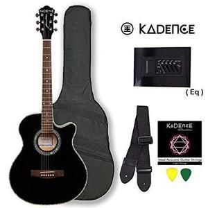 Semi acoustic electric guitar