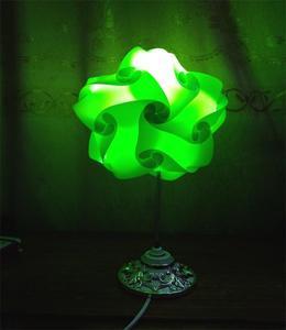 Thai Star shape Table Lamp - Green