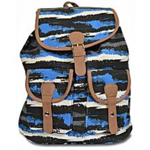 Bags Collection Multicolor Canvas Backpack For Women