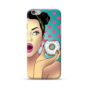 Donut Portrait Cover For Iphone 6 Plus