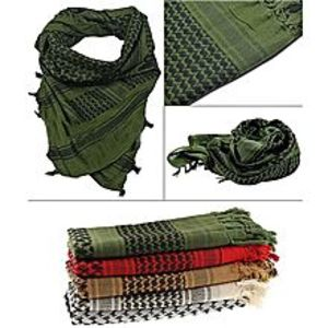 Pakexpress Pack Of 4 - Unisex Military Arab Army Scarf for Women Bws-9994