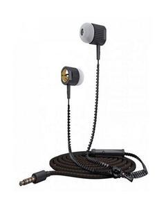 Zipper Earbuds Ze-15 - Black