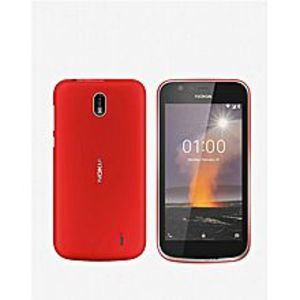 "Nokia1 - 4.5"" - 1GB RAM - 8GB ROM - 5 MP - Red"