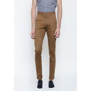 Brown Cotton Chino Twill Pants