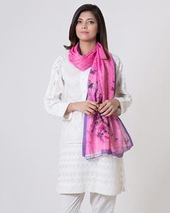 Pink - Polyester Scarf for Women
