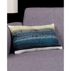 Multi Color Cotton Canvas Block Print Cushion Cover