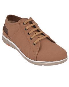 Urban Sole Khaki Canvas Shoes  Winter Collection - CV-8102