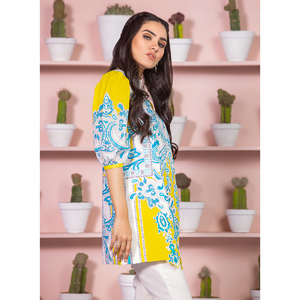 Alkaram studio Spring Summer Collection 2020 Vol I Acid Yellow Lawn 2 Piece Suit For Women -A132225666