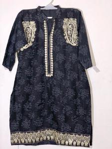 Stylish Embroidered Shirt/Kurta For Women - Stitched