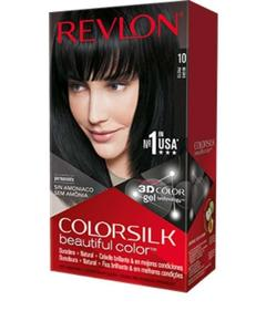 Color Silk 3D Technology USA For Men and Women No 10 Black