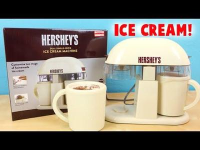 Electric Dual Ice cream Maker