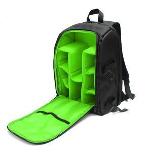 Large Camera Backpack Waterproof Photography Shoulder Bag For Canon Nikon DSLR green