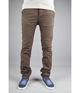 Dark brown chino pant