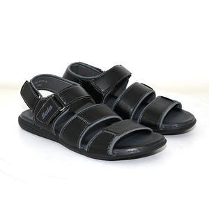 Bata Black Sandals Slippers For Men
