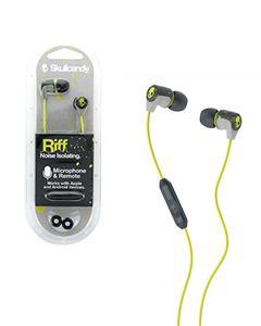 Original Noise Isolating HD Riff Headset/ Earphones/ headphones/ handsfree - Yellow & Green