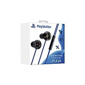 PlaystationIn-Ear Stereo Headset With Built-In Mic And Noise Reducing Audioshield Technology