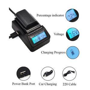Ultra Fast Charger EN-EL15 MH-25 Digital LCD Quick Replace Charger For Nikon D7200 D610 D600 D750 D810 D850