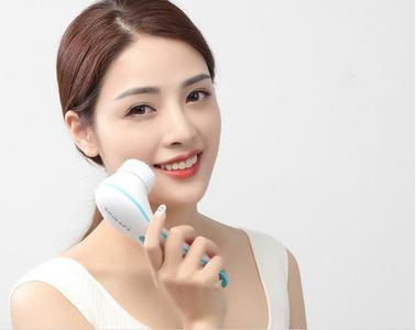 Electric Facial Cleanser Deep Clean Spa Waterproof Washing Machine Soft Brush Spin Face Lift Massage Skin Care Tool Original by Q & A Fashions