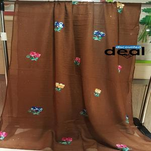 100% Cotton Embroidery scarves stole for women