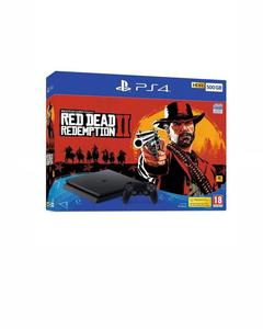 PlayStation 4- 500 GB- Red Dead Redemption II (Bundle)