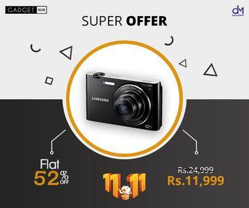 Samsung 16.31MP MultiView Digital Camera MV900F