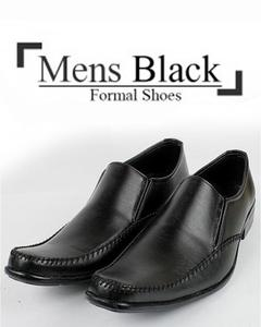 Shinning Black Formal Shoes for Men