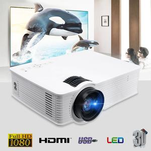 Thinyou GP-9 3000 Lumens HDMI WIFI HD 1080P LCD Home Theatre Video Projector LED EU Plug