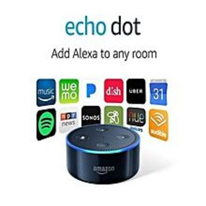 Amazon Echo Dot Wireless Speaker - Latest Generation - Black
