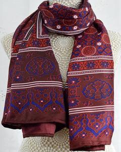 Multi Color Sindhi Ajrak Sl-013